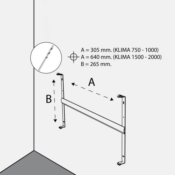 Radialight Klima WiFi, Smart Radiant Heater / Electric Wall Mounted Panel Radiator