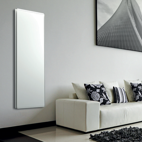 Radialight Icon Dual Therm Vertical Electric Radiator + Timer. Eco Efficient